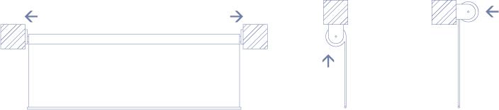 Sposób montażu rolety pionowej